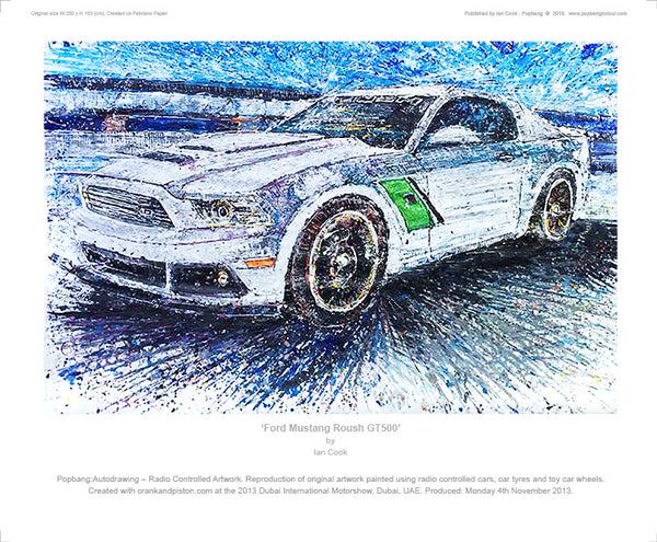 Ford Mustang Roush GT500 - POPBANGCOLOUR Shop