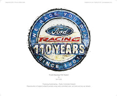 Ford Racing 100 Years Logo