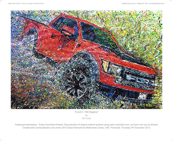Ford F-150 Raptor - POPBANGCOLOUR Shop
