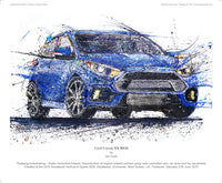 Ford Focus RS - POPBANGCOLOUR Shop