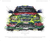 Ford Focus WRC 2007 - POPBANGCOLOUR Shop