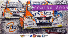 Cobra Sport AmD AutoAid/RCIB Insurance BTCC Honda Civic Type-R (FK2)