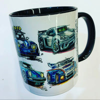 Porsche themed #ContinuousCar collection | #ContinuousCar |  Mug