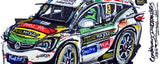 Power Maxed Racing BTCC Vauxhall Astra - Jade Edwards  (Letterbox view) | #ContinuousCar |  Mug