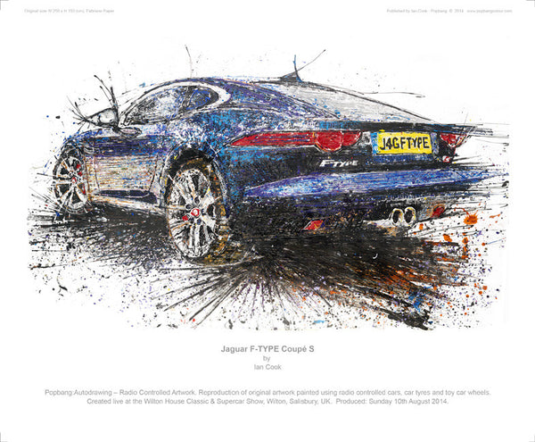 Jaguar F-TYPE Coupe S - POPBANGCOLOUR Shop