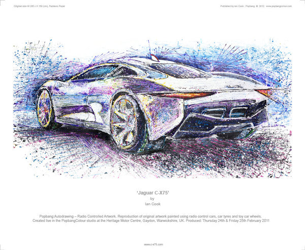 Jaguar C-X75 - POPBANGCOLOUR Shop