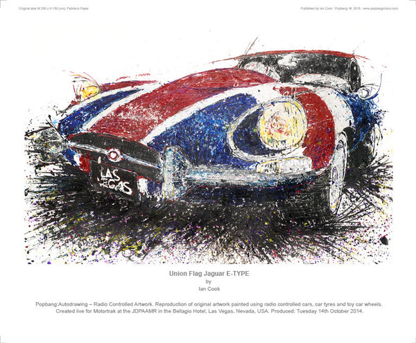 Jaguar E-TYPE Union Flag