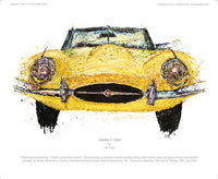 Jaguar E-Type - POPBANGCOLOUR Shop