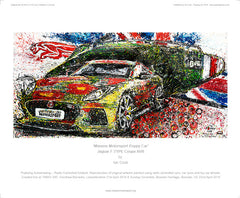 'Mission Motorsport Poppy Car' Jaguar F-TYPE Coupe SVR