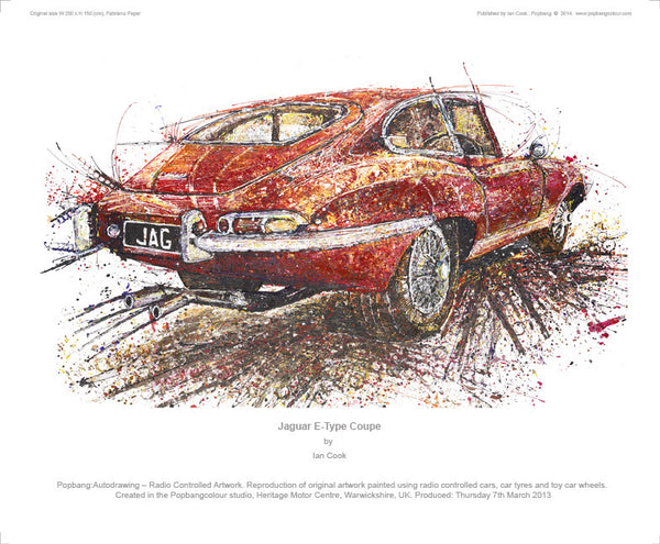 Jaguar E-Type Coupe - POPBANGCOLOUR Shop