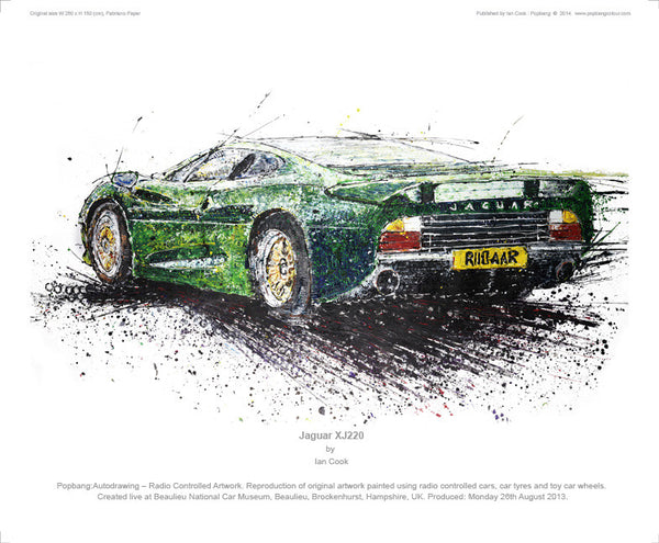 Jaguar XJ220 - POPBANGCOLOUR Shop