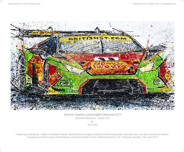 Lamborghini Huracan GT3 Demon Tweeks - POPBANGCOLOUR Shop