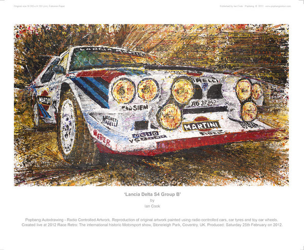 Lancia Delta S4 Group B - POPBANGCOLOUR Shop