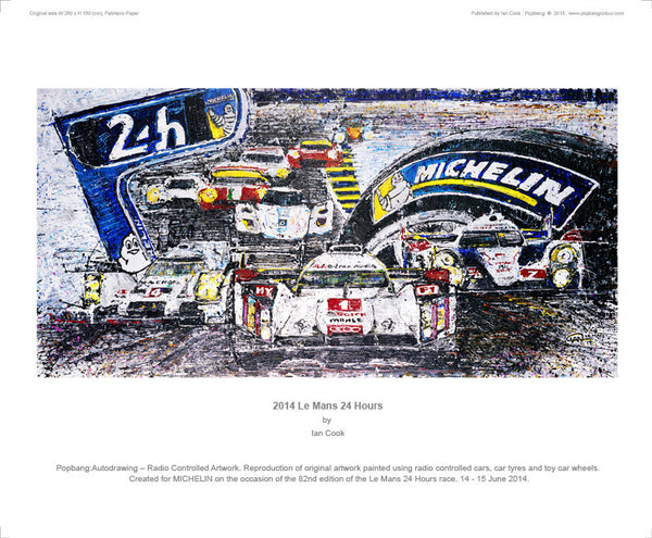 Le Mans 24 Hours for Michelin (2014) - POPBANGCOLOUR Shop