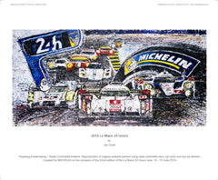 Le Mans 24 Hours for Michelin (2014)