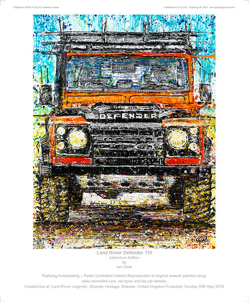 Land Rover Defender 110 - POPBANGCOLOUR Shop