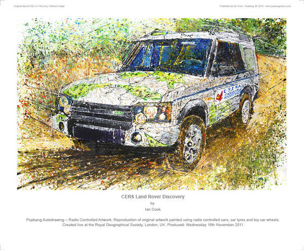 Land Rover Discovery Series 2 'China Explorers' - POPBANGCOLOUR Shop