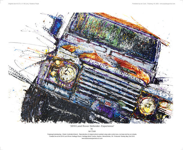 Land Rover Defender Experience 2010 - POPBANGCOLOUR Shop