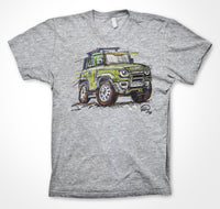 Land Rover New Defender #ContinuousCar Unisex T-shirt