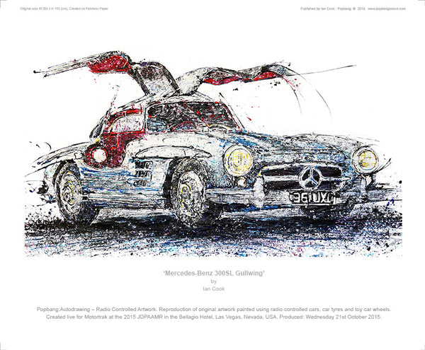 Mercedes-Benz 300SL Gullwing - POPBANGCOLOUR Shop