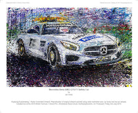 Mercedes Benz GT S AMG F1 Safety Car - POPBANGCOLOUR Shop