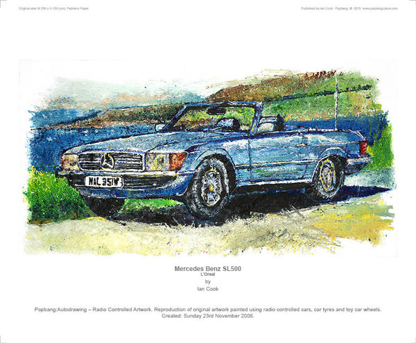 Mercedes-Benz SL500 L'Oreal - POPBANGCOLOUR Shop