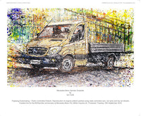 Mercedes-Benz Sprinter Dropside - #20Sprinter - POPBANGCOLOUR Shop