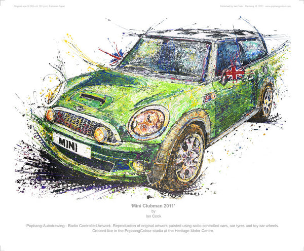 Mini Clubman 2011 - POPBANGCOLOUR Shop