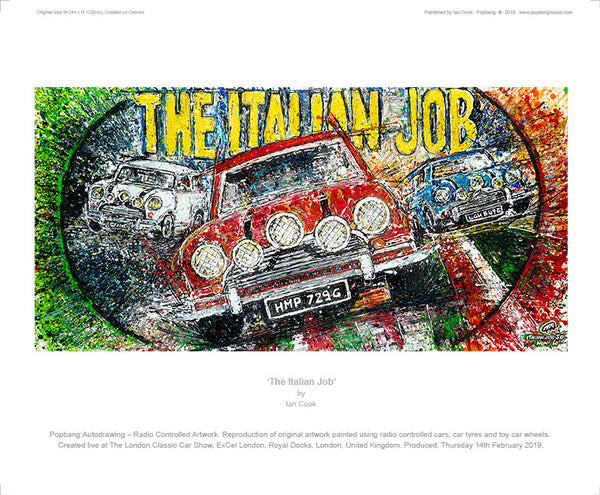 'The Italian Job' - POPBANGCOLOUR Shop