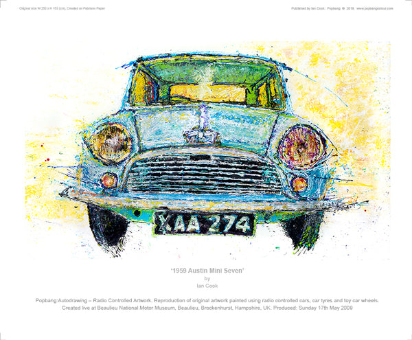 1959 Austin Mini Seven - POPBANGCOLOUR Shop