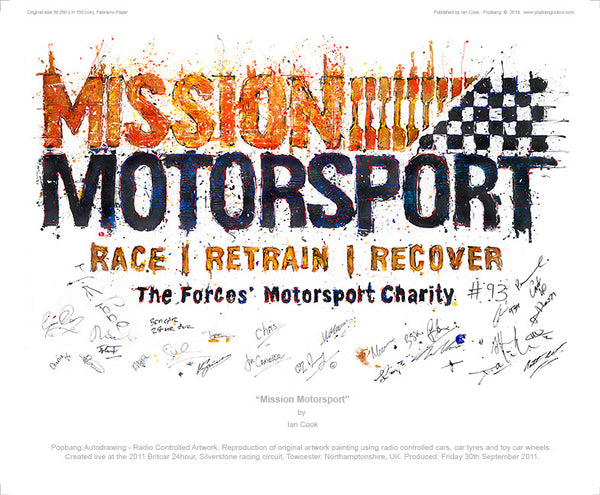 'Mission Motorsport' - POPBANGCOLOUR Shop