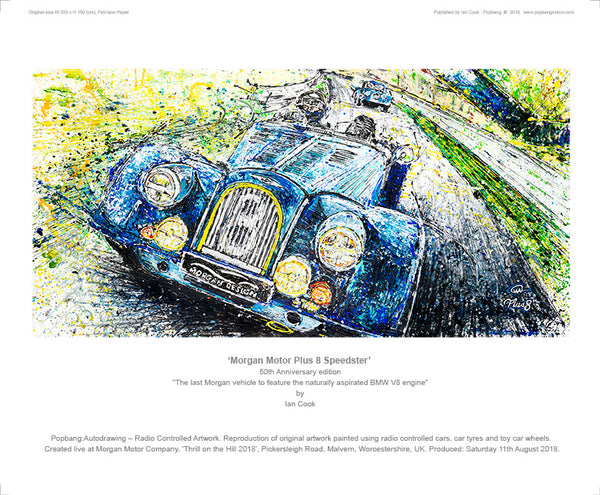 Morgan Plus 8 Speedster 50th Anniversary - POPBANGCOLOUR Shop