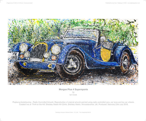 Morgan Plus 4 Supersports - POPBANGCOLOUR Shop