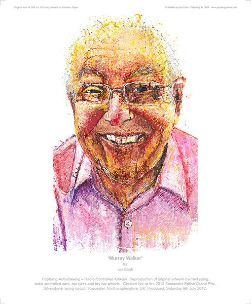 Murray Walker - POPBANGCOLOUR Shop