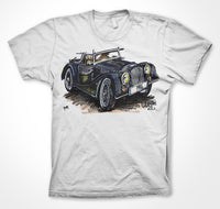 Morgan Plus Four #ContinuousCar Unisex T-shirt