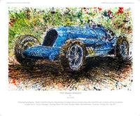 Napier 'Bluebird' 1927 - POPBANGCOLOUR Shop