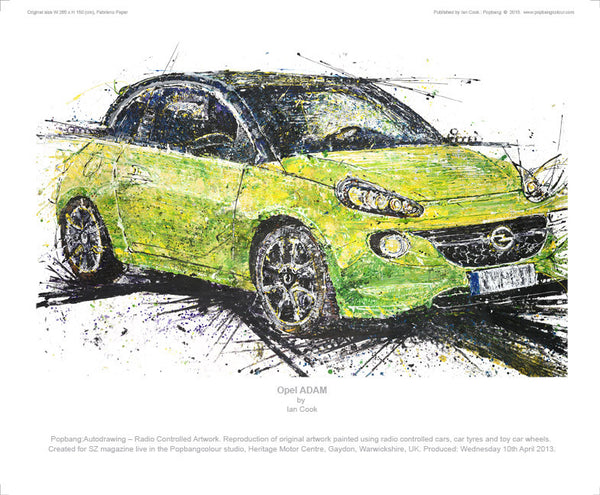 Opel ADAM - POPBANGCOLOUR Shop