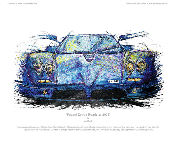 Pagani Zonda Roadster 2005 - POPBANGCOLOUR Shop