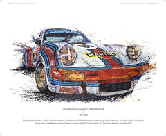 Porsche 911 (Vodka Martini) RSR 3000 No.86 1974