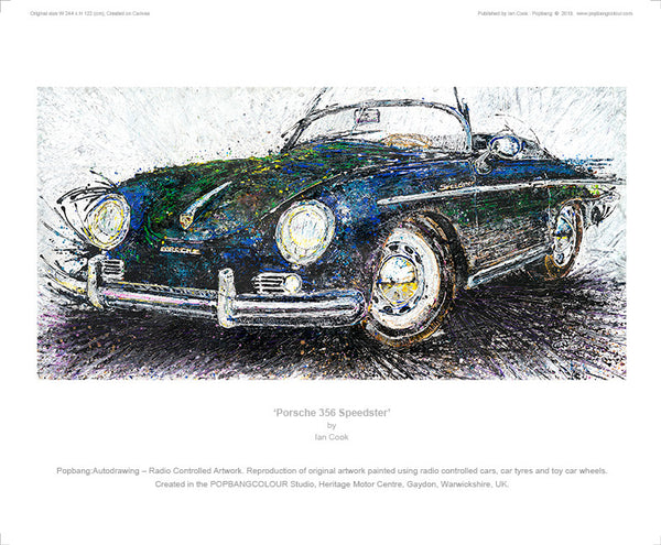 Porsche 356 Speedster - POPBANGCOLOUR Shop