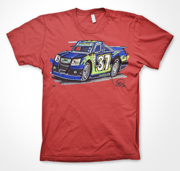 Relssert Racing Isuzu pick-up truck - Team 37  #ContinuousCar Unisex T-shirt