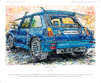 Renault 5 Turbo - POPBANGCOLOUR Shop