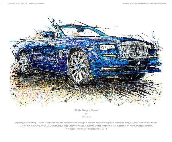 Rolls Royce Dawn - POPBANGCOLOUR Shop
