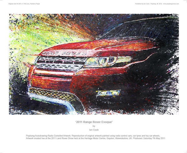 Range Rover Evoque 2011 - POPBANGCOLOUR Shop