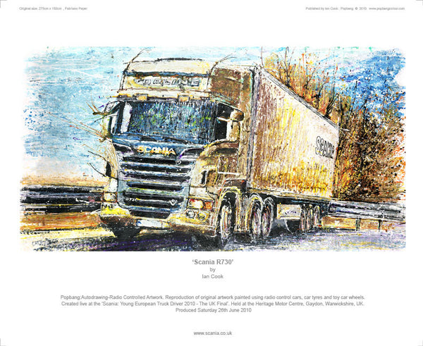 Scania R730 - POPBANGCOLOUR Shop