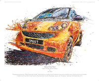 Smart FourTwo - POPBANGCOLOUR Shop
