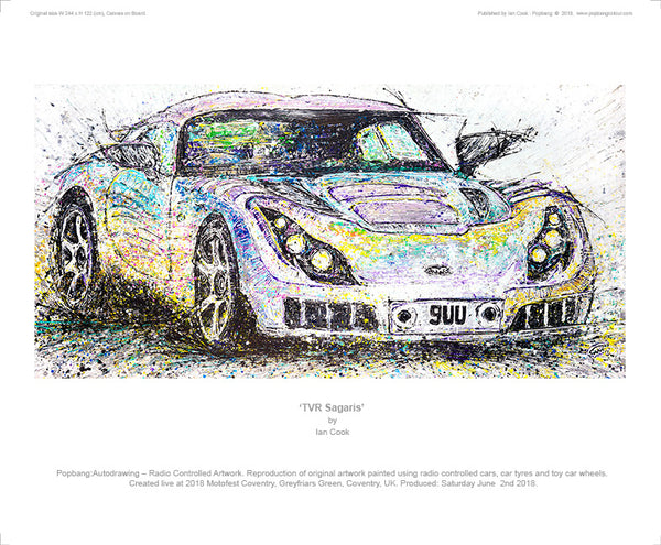 TVR Sagaris - POPBANGCOLOUR Shop