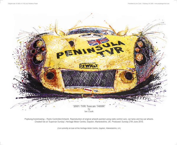 TVR Tuscan T400R 2001 - POPBANGCOLOUR Shop