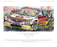 Sterling Insurance with Power Maxed Racing | 2019 BTCC Vauxhall Astra - POPBANGCOLOUR Shop