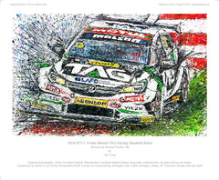 BTCC Power Maxed TAG Racing Vauxhall Astra